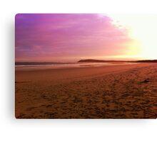Ocean Grove at Sunset Canvas Print