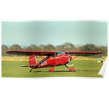Little red Cessna  Poster
