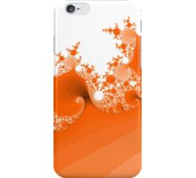 Abstract Orange Fractal iPhone Case/Skin