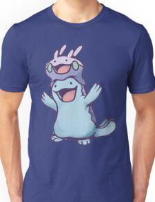 Unaware Goomy & Quagsire Unisex T-Shirt