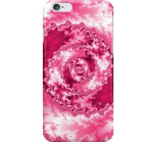 Abstract Pink Radial Pattern iPhone Case/Skin