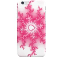 Abstract Pink Lightning Fractal iPhone Case/Skin