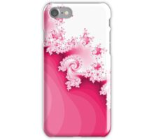 Abstract Pink Fractal iPhone Case/Skin