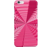 Abstract Pink Shapes iPhone Case/Skin