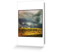 Swirling winds Greeting Card