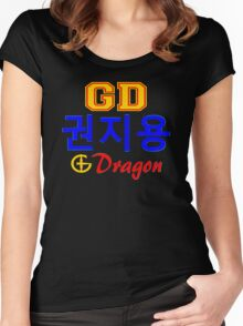 ♥♫Big Bang G-Dragon Cool K-Pop GD Clothing & Cases & Stickers & Bags & Home Decor & Stationary♪♥s♪♥ Women's Fitted Scoop T-Shirt