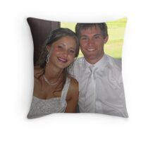 One of my Beautiful Granddaughters on her Wedding Day. Throw Pillow