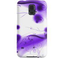 Abstract Purple Flourishes Samsung Galaxy Case/Skin