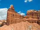 Red Cliffs in the Desert by Kenneth Keifer