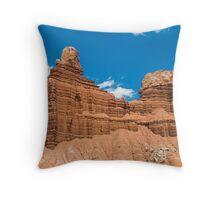 Red Cliffs in the Desert Throw Pillow