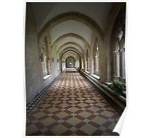Abbey hallway Poster