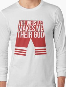 Supernatural Inspired Design (Dean Winchester) - 'The Whistle Makes Me Their God': After School Special (Minimalist Geek Chic) Long Sleeve T-Shirt