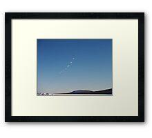 Open sky Framed Print