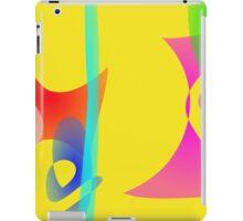 Yellow Abstract Toys iPad Case/Skin