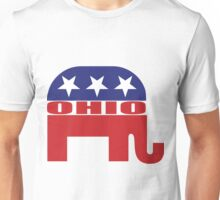 Ohio Republican Elephant Unisex T-Shirt
