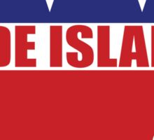 Rhode Island Republican Elephant Sticker