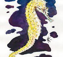 Seahorse by Kyra Kalageorgi