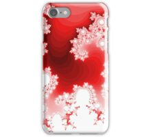 Abstract Red Fractal Pattern iPhone Case/Skin