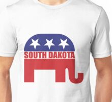 South Dakota Republican Elephant Unisex T-Shirt