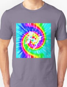 Tie Dye Tie Fighter - white T-Shirt