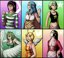 Ladies of One Piece by Deer-Head-Xiris