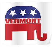 Vermont Republican Elephant Poster