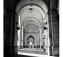 Union Station - Washington - 1975 Photographic Print