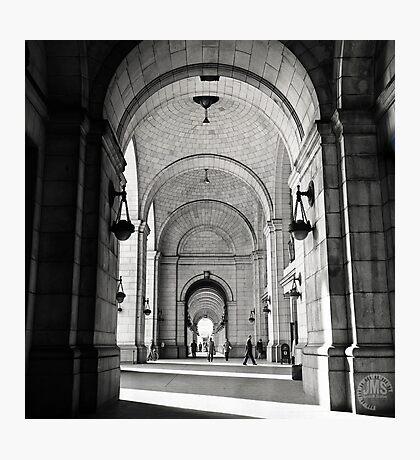 Union Station - Washington - 1975 Photographic Print