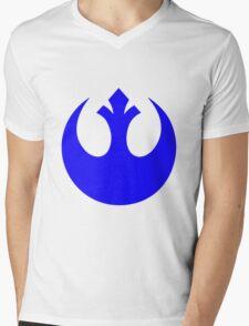 Rebel Alliance Logo Mens V-Neck T-Shirt
