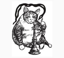 Real Cat love Hookah One Piece - Short Sleeve