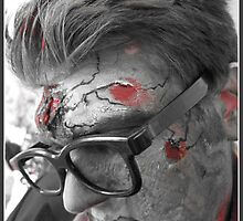 Hipster zombie by colderin