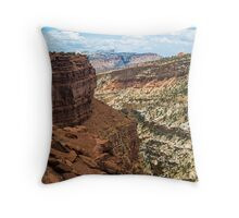 Panorama Point at Capitol Reef Throw Pillow