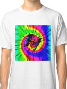 Tie Dye Tie Fighter - black Classic T-Shirt