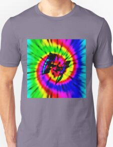 Tie Dye Tie Fighter - black T-Shirt