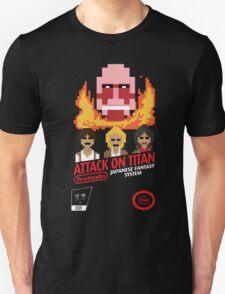 Attack On Titan Nintendo Cartridge Unisex T-Shirt