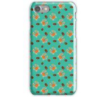 Orange crabs iPhone Case/Skin