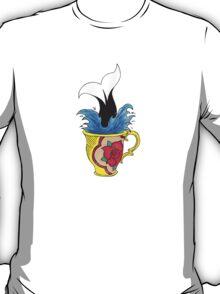 Diving into Tea. T-Shirt