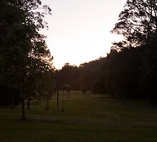 Kangaroo Valley - Sunset view 02 by Timothy Kenyon