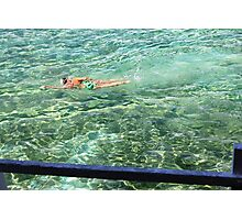 Bronte Pool Swimmer Photographic Print
