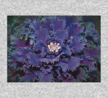 Leafy purple One Piece - Long Sleeve