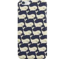 Whale pattern iPhone Case/Skin