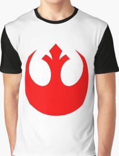 Rebel Alliance Logo Red Graphic T-Shirt