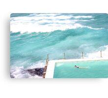 Bondi Icebergs Canvas Print