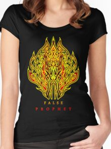 TPP: Flareon The False Prophet Women's Fitted Scoop T-Shirt