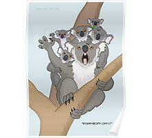 Unbearable Koalas Poster