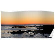Morro Bay Sunset Poster