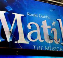 Matilda the Musical Sticker