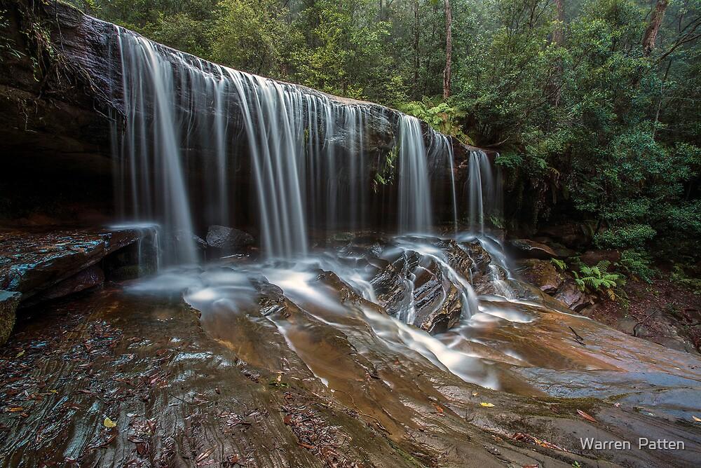 Somersby Falls.1-3-14. by Warren  Patten