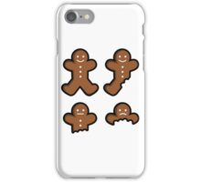 Eaten (Gingerbread Man) iPhone Case/Skin