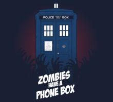 Zombies Have A Phone Box by AMDY
